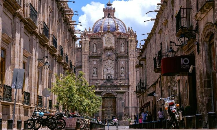 Catedral en México