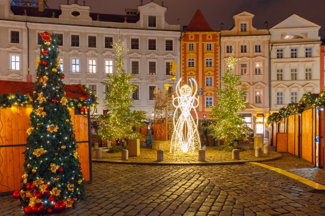 Old Town Christmas Square in Prague