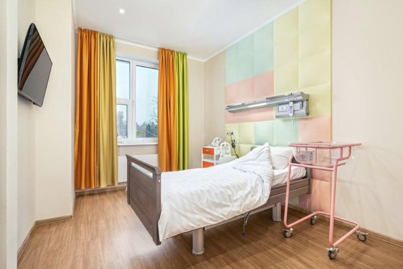 Habitación en hospital Leleka